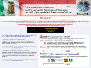 schermata polizia postale